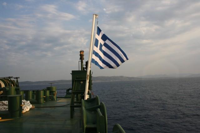 greek flag isalos