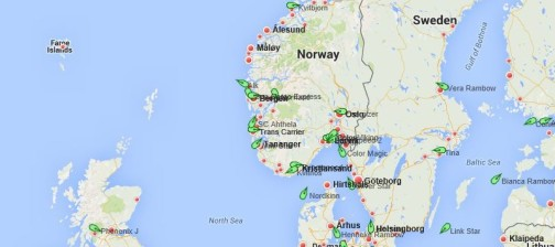 ShortSeaSchedules_Ruter_Short_sea_Schedule_Skip_linjer_posisjoner_AIS