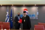 Δωρεά ΕΕΝΜΑ στην Αποστολική Διακονία της Εκκλησίας της Ελλάδος