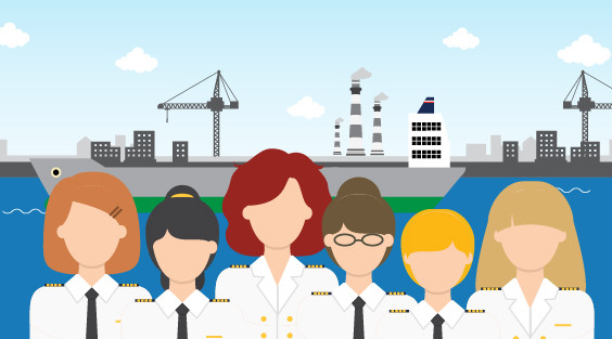 women-in-shipping-concept-image